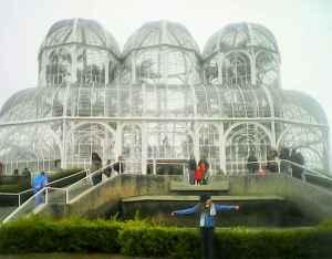 viagem à Curitiba. Jardim Botânico
