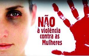 campanha Não à violência contra as mulheres