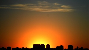 Pôr-do-sol no Hauer, Curitiba/PR