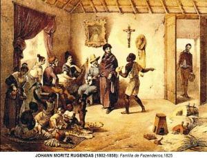quadro do pintor Rugendas, 1825