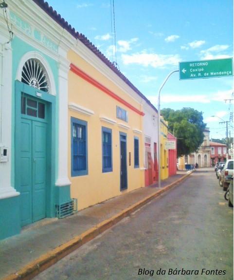 Centro Histórico de Cuiabá. Crédito: Bárbara Fontes