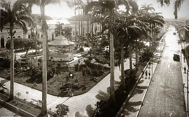 jardim da Praça Alencastro, Cuiabá/MT