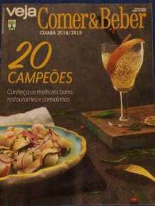 revista Veja Comer & Beber Cuiabá