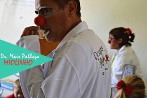 Silvio Walace como doutor Miolinho