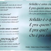 Poema 'SOLIDÃO'