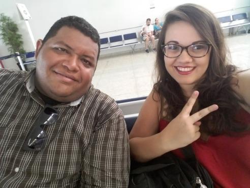 Jair Junior e Juliana Graziela, do Grupo Penumbra. Acervo pessoal.
