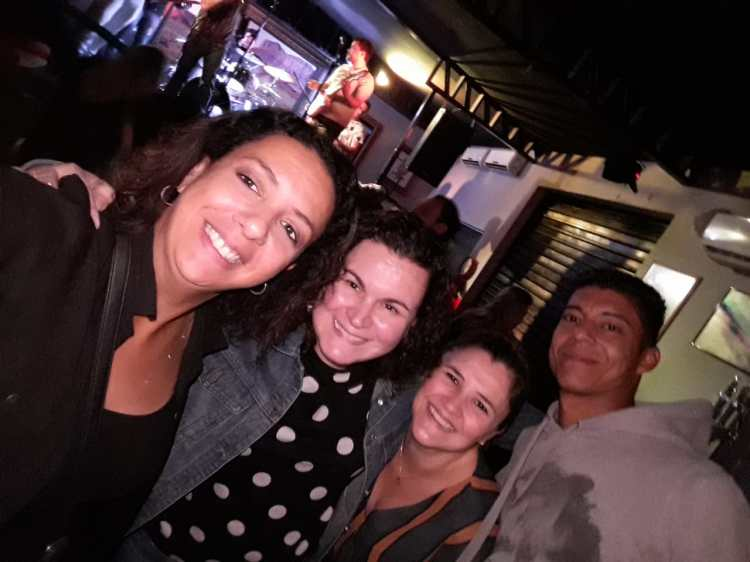 Natacha_Camila_Márcia Raquel e Herlon