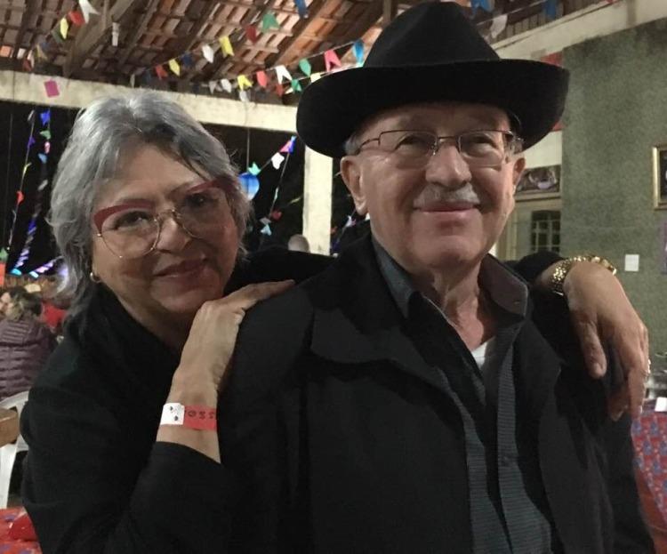 Sonia e o marido Zeca